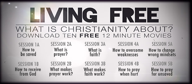 living free - what is Christianity about and what is a christian?